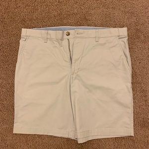 Men's Croft & Borrows Size 38 Stone Shorts